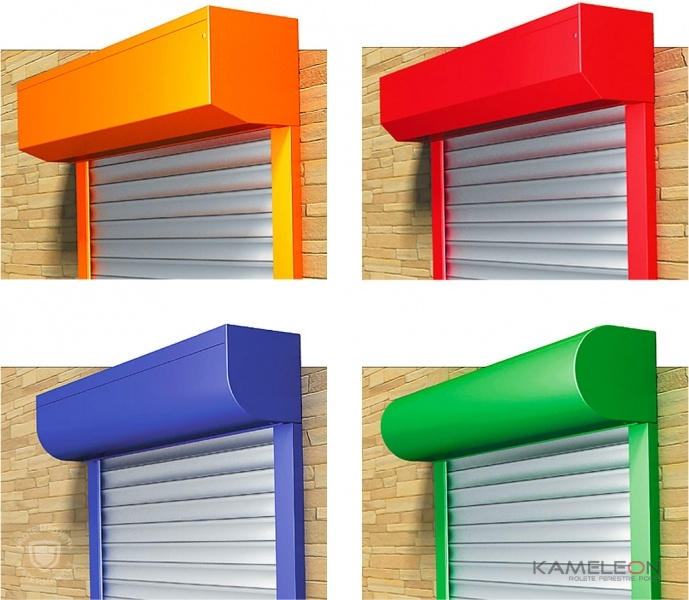 Culorile roletelor pentru apartamente și case
